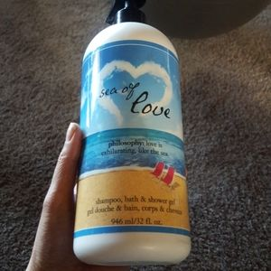 Lately used super size Sea of Love shower gel